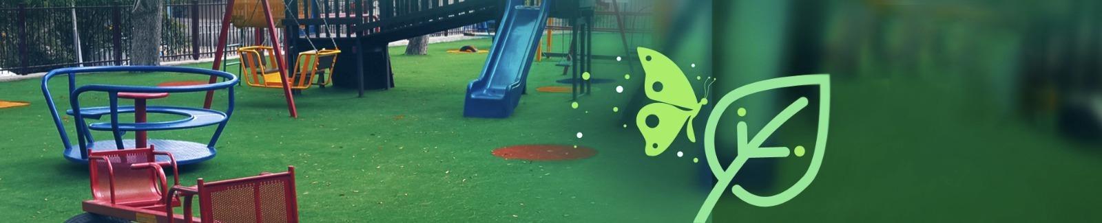 דשא סינטטי לפארקים ואזורי משחק